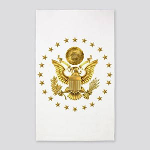 Gold Presidential Seal, The White House Area Rug