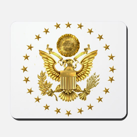 Gold Presidential Seal, The White House Mousepad