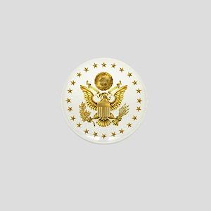 Gold Presidential Seal, The White Hous Mini Button