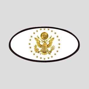 Gold Presidential Seal, The White House Patch