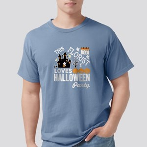 This Florist Loves Halloween Party T Shirt T-Shirt