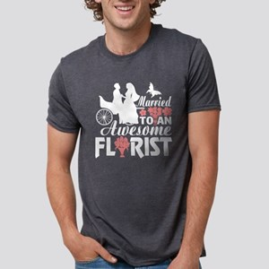 Married To An Awesome Florist T Shirt T-Shirt