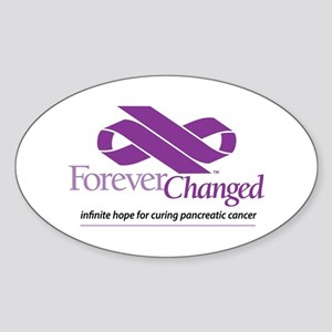 ForeverChanged - cancer/infinity ribbon Sticker