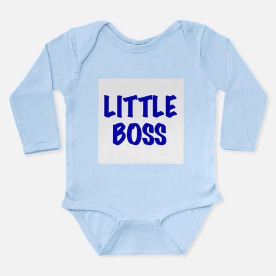 Little Boss (blue) Infant Creeper Body Suit