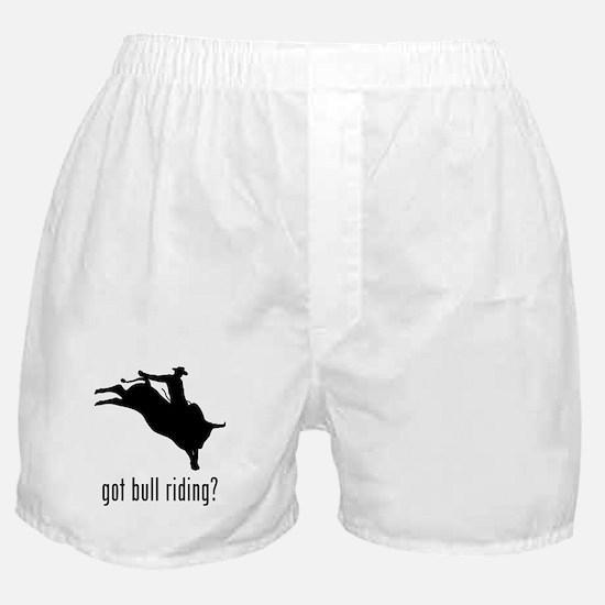 Bull Riding Boxer Shorts