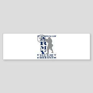Father-n-Law Fought Freedom - ARMY Sticker (Bumper