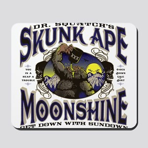 Dr. Squatch's Skunk Ape Moonshine Mousepad