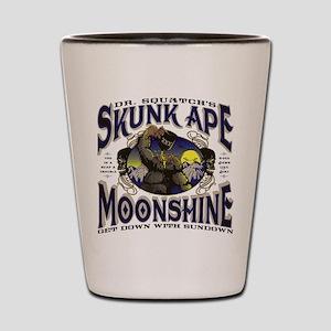 Dr. Squatch's Skunk Ape Moonshine Shot Glass