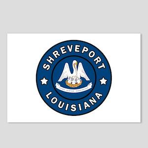 Shreveport Louisiana Postcards (Package of 8)