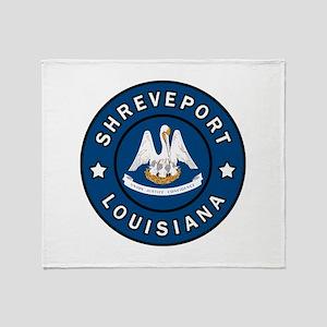 Shreveport Louisiana Throw Blanket