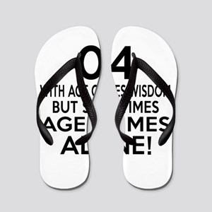 04 Awesome Birthday Designs Flip Flops