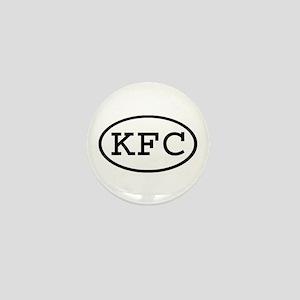 KFC Oval Mini Button
