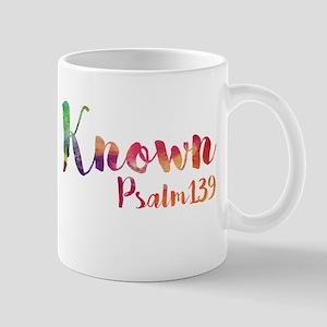 Known Psalm 139 Mugs