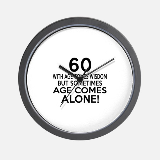 60 Awesome Birthday Designs Wall Clock