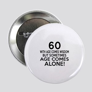 "60 Awesome Birthday Designs 2.25"" Button (10 pack)"