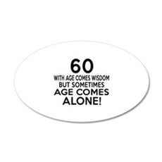 60 Awesome Birthday Designs Wall Decal