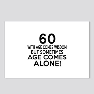 60 Awesome Birthday Desig Postcards (Package of 8)