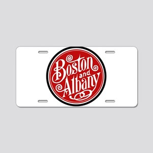 Design Boston Albany railro Aluminum License Plate
