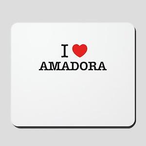 I Love AMADORA Mousepad