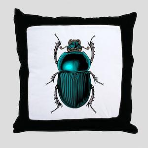 BEETLE - BUG Throw Pillow