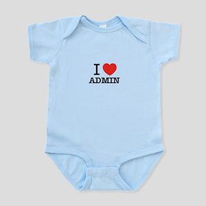I Love ADMIN Body Suit