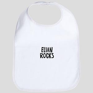 Elian Rocks Bib