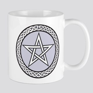 Pagan Star With Celtic Knot Regular Mugs