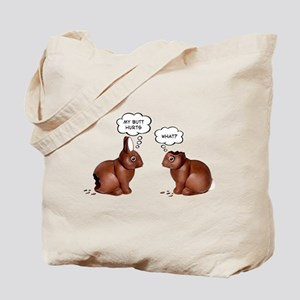 Chocolate Easter Bunnies Tote Bag