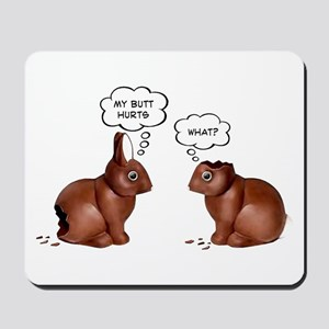 Chocolate Easter Bunnies Mousepad