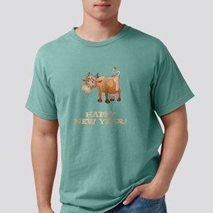 Happy New Year Cow T-Shirt