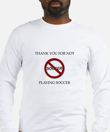 Cute Soccer rules Long Sleeve T-Shirt