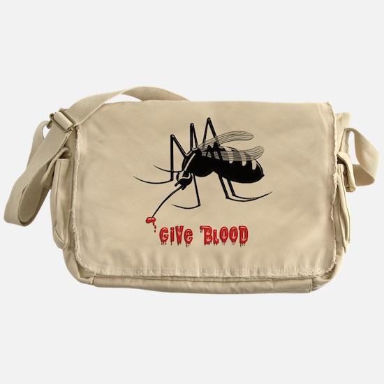 Unique Bite Messenger Bag