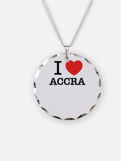 I Love ACCRA Necklace