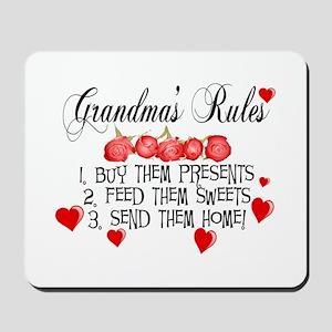 Grandma's Rules Mousepad