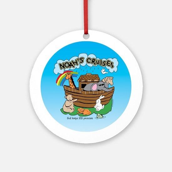 Noah's Cruises Ornament (Round)