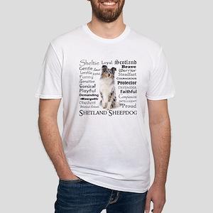 Blue Merle Sheltie Traits T-Shirt