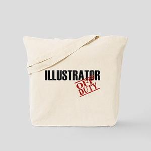 Off Duty Illustrator Tote Bag