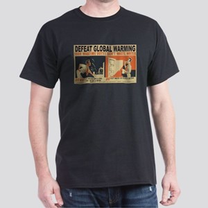 Defeat Global Warming (1) T-Shirt