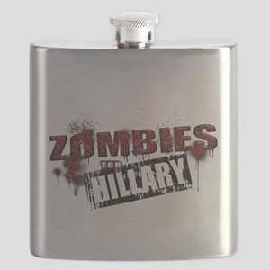 Zombies for Hillary Flask