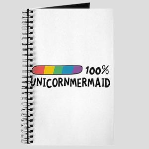 100% Unicorn Mermaid Cl1o1 Journal