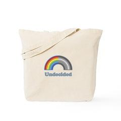 Undecided Rainbow Tote Bag