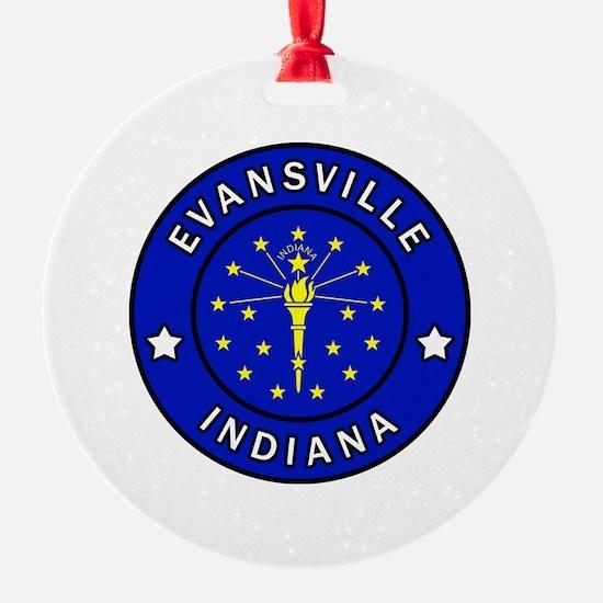 Cute Indiana hoosiers Ornament