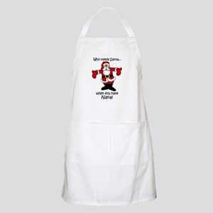 Who needs Santa BBQ Apron