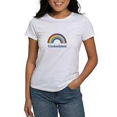 Undecided Rainbow Women's T-Shirt