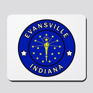 Evansville Indiana Mousepad