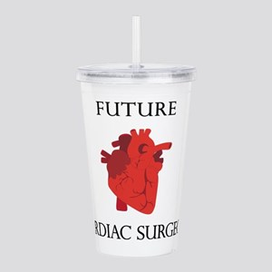 Future Cardiac Surgeon Acrylic Double-wall Tumbler