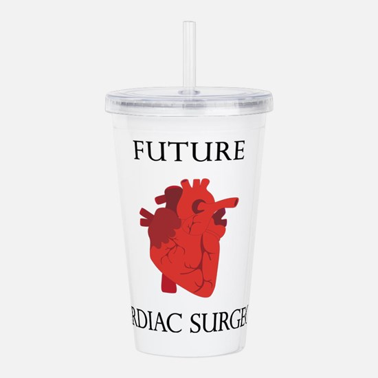 Future Cardiac Surgeon Acrylic Double-wall Tumbler
