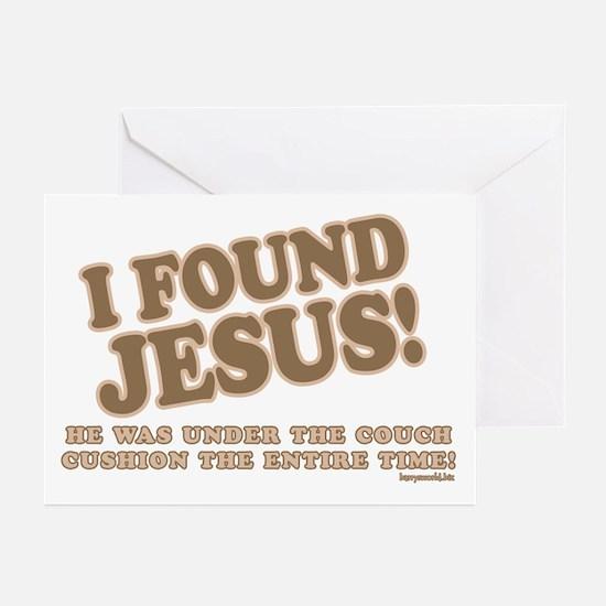 I Found Jesus Greeting Cards (Pk of 20)