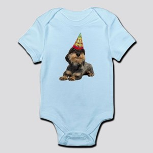 Wirehaired Dachshund Birthday Body Suit