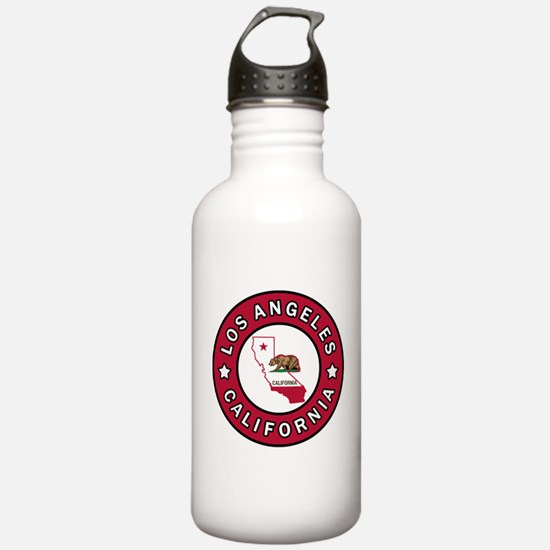 Los Angeles California Water Bottle